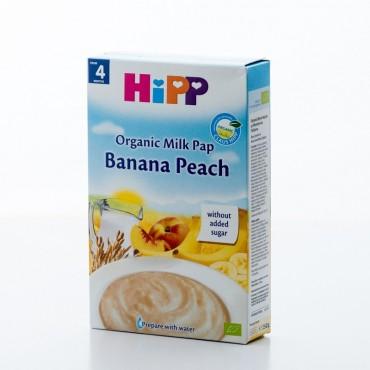 HiPP Banana Peach, Organic Milk Pap, 250g