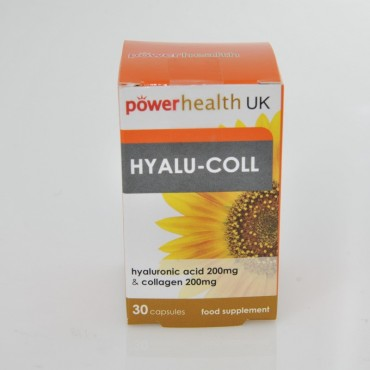 Power Health Hyaluronic Acid & Collagen 200mg 30 Caps