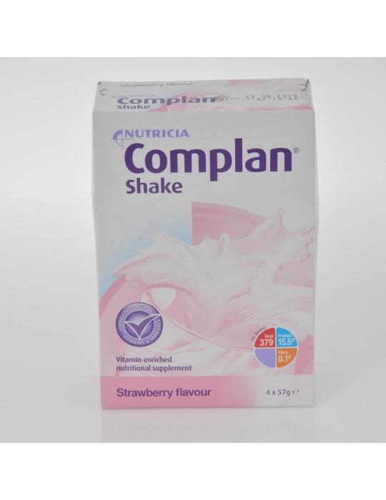 Complan Shake Strawberry 4 x 57gr