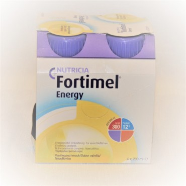 Fortimel Energy Vanilla 4x200ml