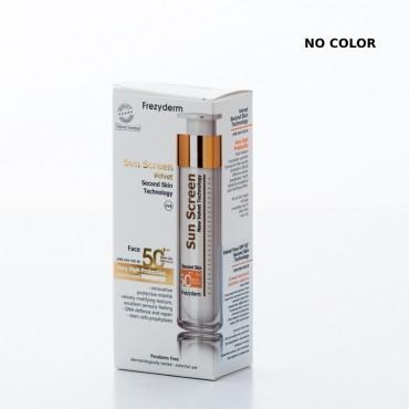 Frezyderm Sun Screen Velvet Face Cream SPF50+, 50ml (NO COLOR)