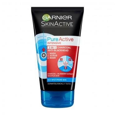 SKIN ACTIVE PURE ACTIVE BLACKHEADS MASK 150ML